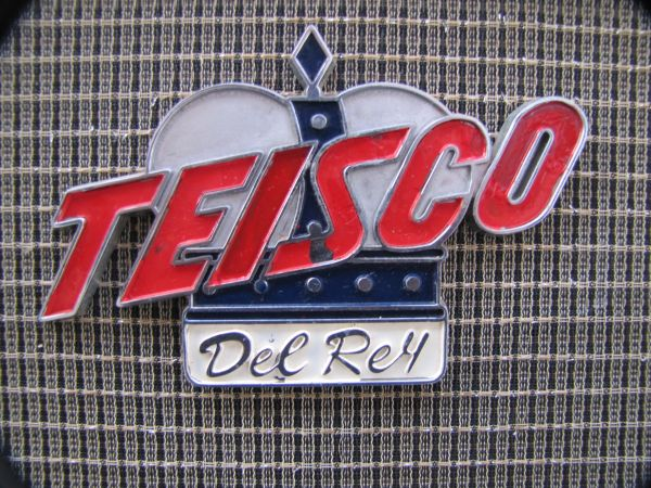 1966 Teisco Del Rey Checkmate 50 Speaker cabinet. - $200 (NW Seaworld)