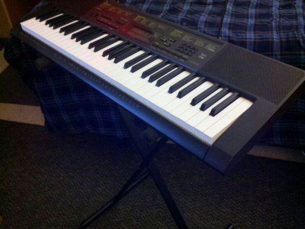 Casio Keyboard CTK-2080 - $70 (Lackland AFB)