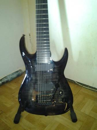 8 STRING GUITAR AGILE INTERCEPTOR PRO 828 - $800 (NW SAN ANTIONO)