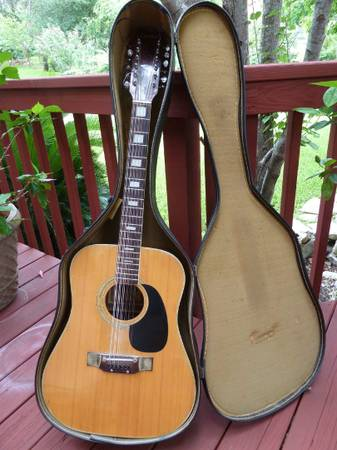 12 String Acoustic Guitar Cortley CF-150 - $120 (NW San Antonio)