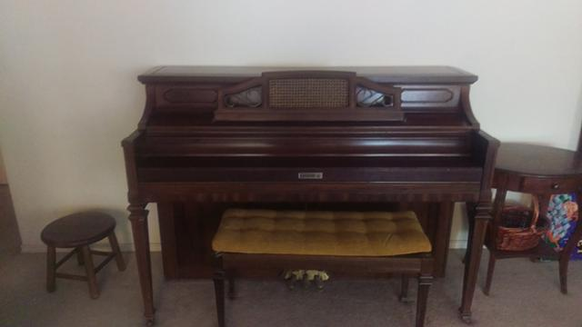 Upright Kimball Piano