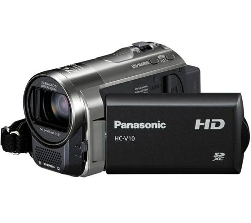 New Panasonic HC-V10K HD 70x Optical Zoom SD Camcorder NIB -   x0024 125  78230