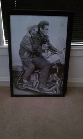 Marilyn Monroe and James Dean - $35 (Downtown San Antonio)