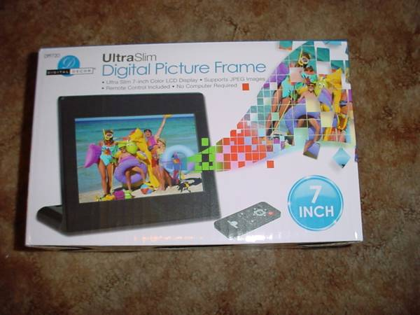 Digital Picture Frame (NEW) - x002430 (OConnor 35,N.East,SA)