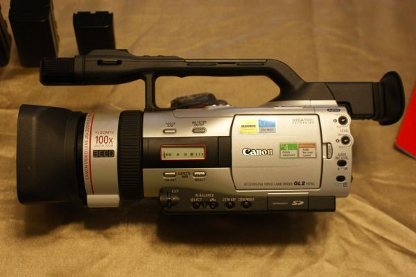 CANON GL2 Digital Video Recorder and Accessories - $1500 (New Braunfels)