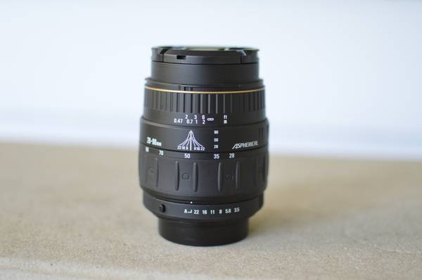 Quantaray 28-90mm f3.5-5.6 autofocus lens for Pentax - $60 (Central S.A.)