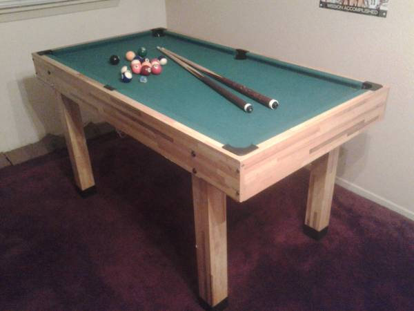 i have pool table for trade i looking for nice dinner table or for s - $100 (gen mcmullen hwy 90)