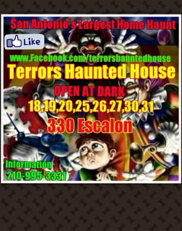 WE NEED UR UNWANTED HALLOWEEN ITEMS PROPS DECORATIONS AND MORE (Terrors haunted house)