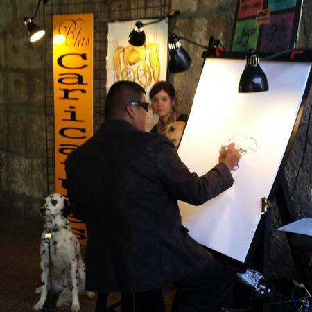 Need experienced caricature artist for downtown area festivals   Downtown