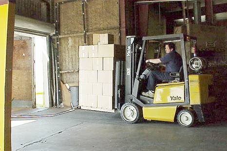 Shipping Receiving Warehouse Clerk