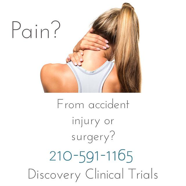 Clinical Trial for Pain in San Antonio