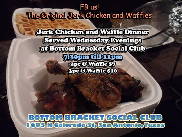 Jerk Chicken N Waflles Every Monday  Wednesday  Thursday Night
