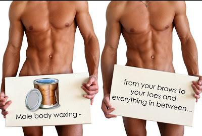 Mens waxing and salon services