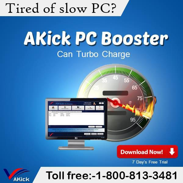 Advanced PC Speed Up Booster Software Free Download - AKick