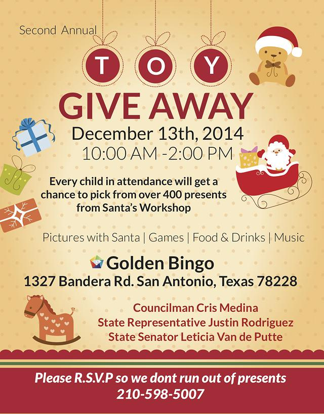 2nd Annual Toy Giveaway