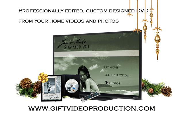 Video Montage - Personalized gift for Christmas  anniversaries and more