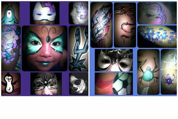 face painting by FACECREATIONS (san antonio)