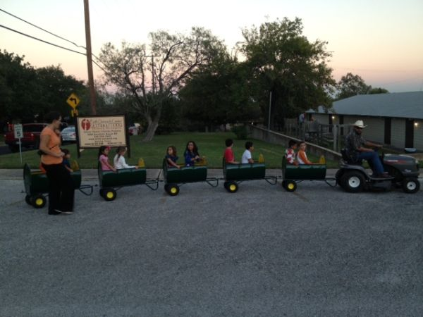 Fun Filled Barrel Train Ride (San Antonio)