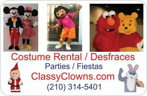 lal Cartoon Costumes Mickey, Elmo, Barney, YoGabba, HelloKitty More (Jackson Keller San Pedro)