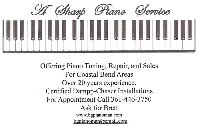 A Sharp Piano Service and Tuning