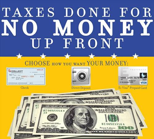 INCOME TAX SERVICES -- UP TO $50 OFF (2379 NE Loop 410 STE 106)