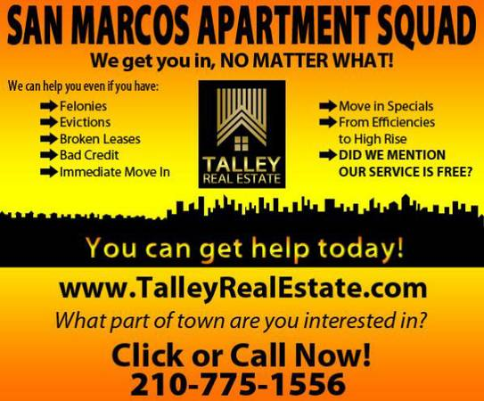 Apartment Home Locators - Broken Lease, Credit, Eviction Challenge Ca (San Antonio Surrounding Decide For Yourself)