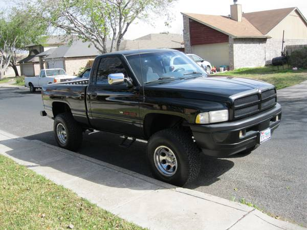 STOLEN-1997 DODGE RAM 1500  BIG COUNTRY SUBDIVISION