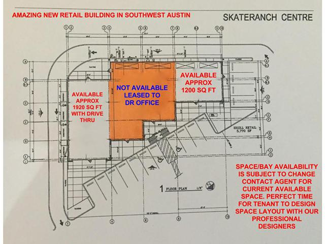 Retail Space Available on HWY 290 W in Austin  Texas