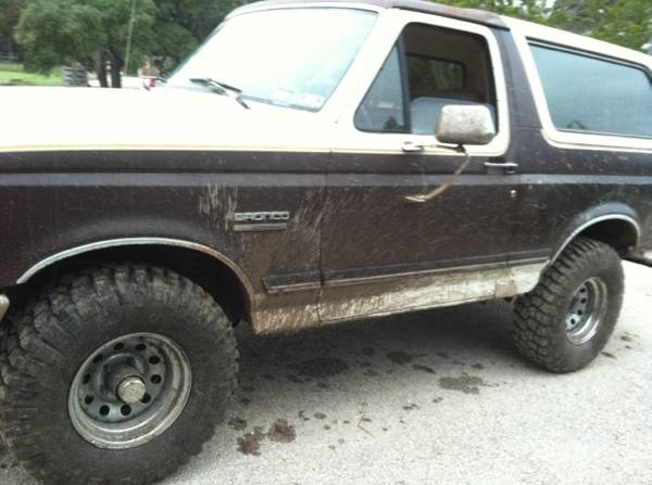 Ford bronco 89 -   x0024 2200