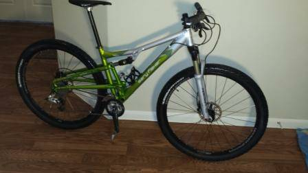 2008 Gary Fisher Caliber 29er Full Suspension Bike  -   x0024 1400  Kyle tx