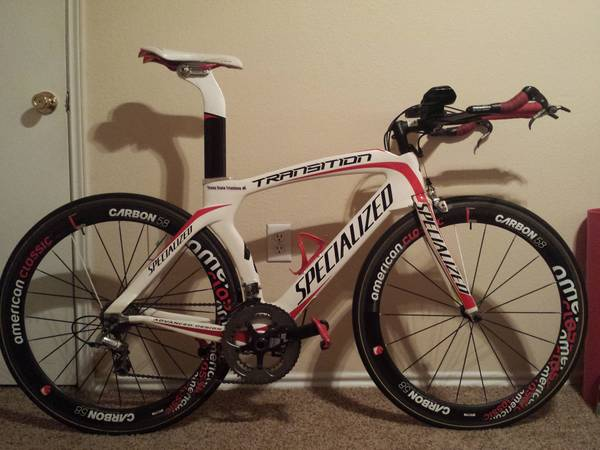 Specialized Transition Expert Medium Tri   TT Bike  Module  -   x0024 3000  Texas State University