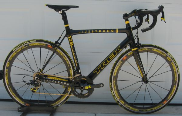Custom Livestrong Trek Madone 6 - $3495 (Canyon Lake, Tx)