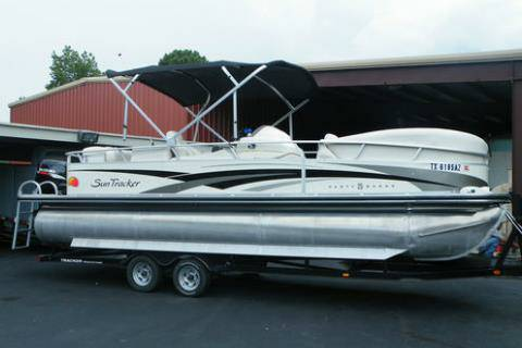 2008 Regency Edition Suntracker 25 Pontoon Boat w 115HP - $25000 (NW San Antonio)