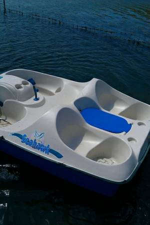 Seahawk paddle boat for sale - $350 (Kyle tx)