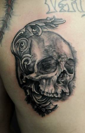 Tattoos by Trent Valleau - professional tattoo artist                   ATX