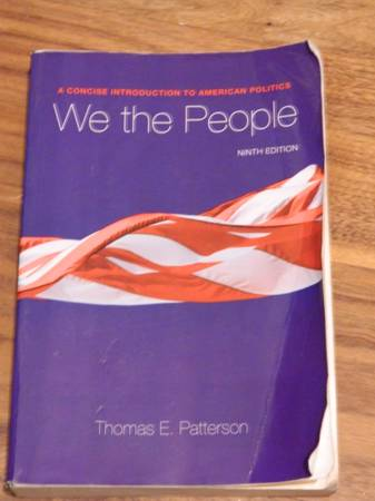We the People ISBN 978-0-07-337906-7 -   x0024 15