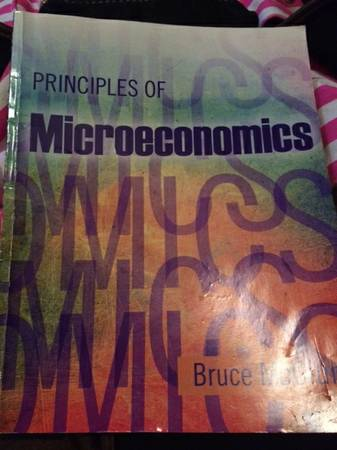 Principles of Microeconomics by Bruce McClung -   x0024 95  San Marcos  TX