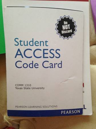 Student access code comm 1310 - $25 (Dakota ranch)