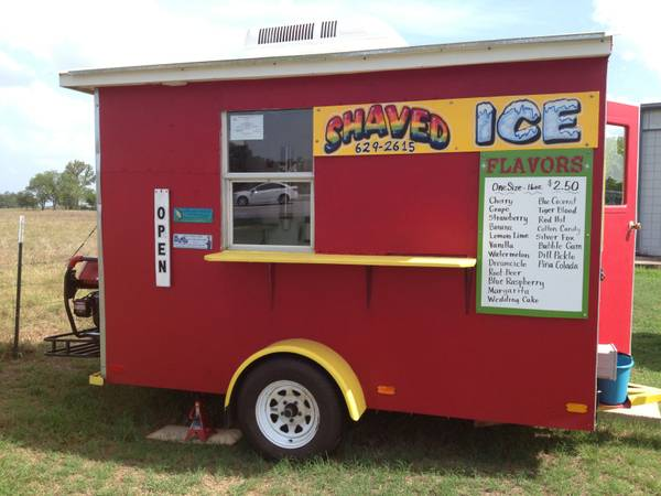 Custom food trailer - $10000 (Smithville)