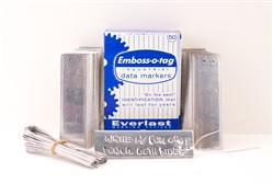 25  Emboss-O-Tag Industrial Data Markers