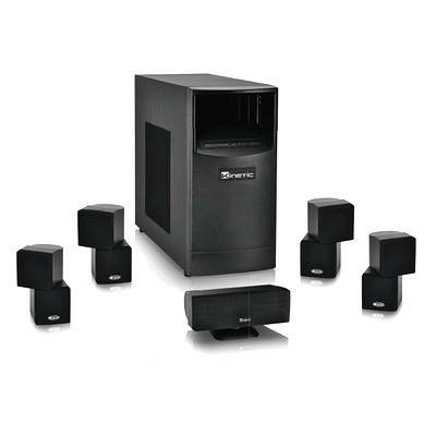 kinetic ka-8100 5.1 multi channel surround sound system - $250 (kyle)