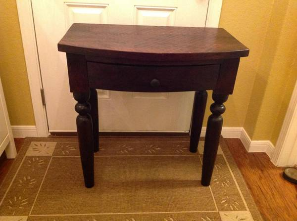 Sourav Foyer Table From World Market   $100 (New Braunfels)