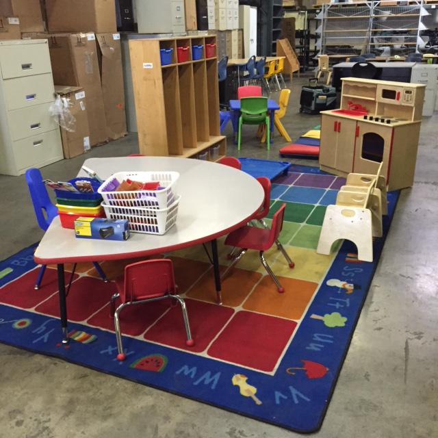 10  School And Daycare Surplus Furniture Liquidation