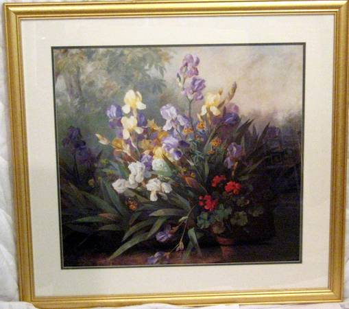 Large Framed Lithograph Art Colection - $295
