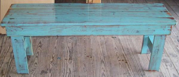 50  Farm House Benches