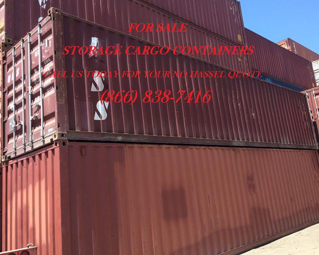 Storage Shipping Containers for Sale