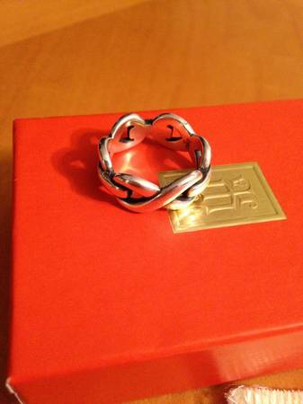 James Avery Infinity Ring Size 8 -   x0024 65  Seguin