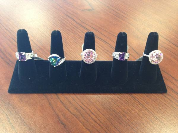 925 Silver Color Stone Rings for Sale -   x0024 80  seguin  tx