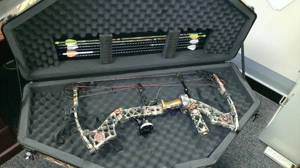 Mathews Z7 Extreme RH 7028 with lots of extras - $850 (San Marcos)