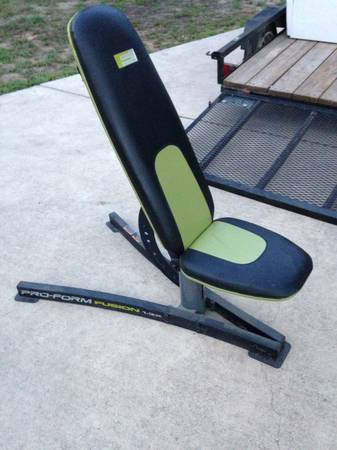 Weight Bench- Pro Form Fusion 1.3x - $75 (La Vernia TX)
